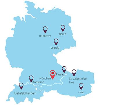 Meierhofer-Standorte
